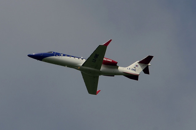 LX-ONE Learjet