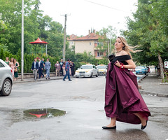 Lifting One's Frock Above the Puddles