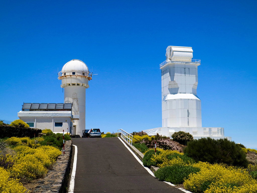 Tour al observatorio de Tenerife