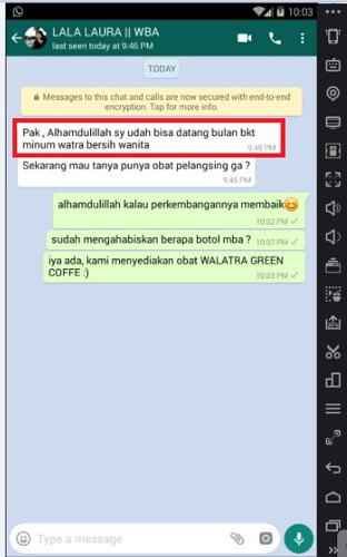 Testimoni Bersih Wanita