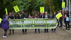 Manifestación Contra a Mina Touro-O Pino 10/06/18