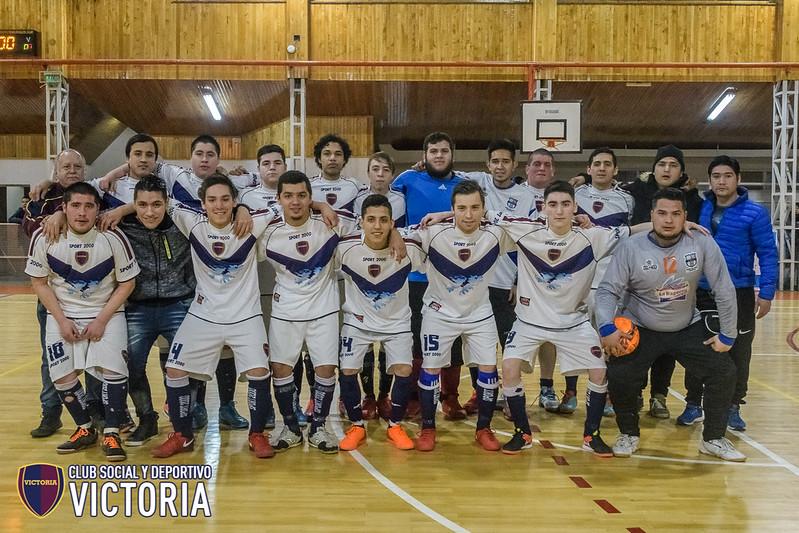 Torneo de Futsal AFA 2018 [Futsal] Victoria C vs San Francisco - 10/06/18