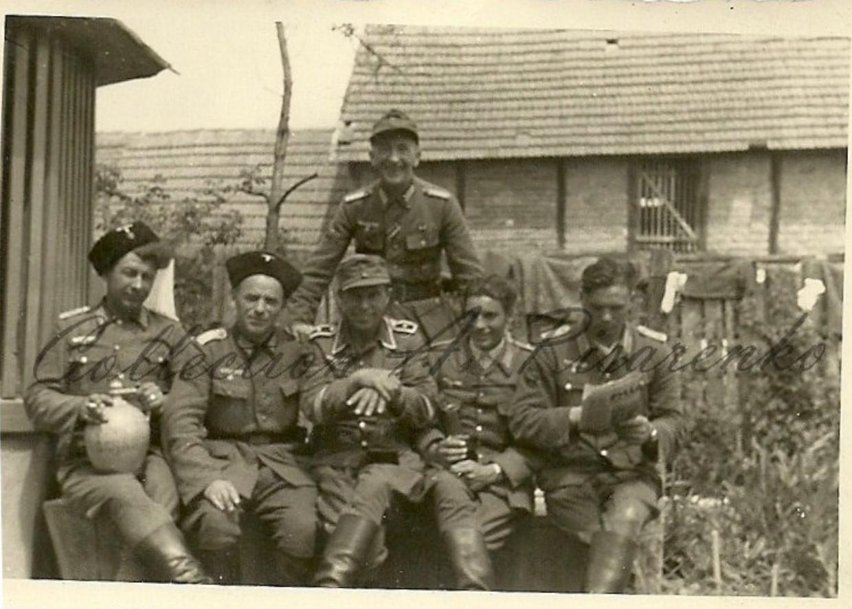 Казаки из 1-й казачьей дивизии