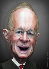 Anthony Kennedy - Caricature