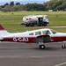 G-CJLI Piper PA-28-161 Cherokee Warrior II, Smart People Don't Buy Ltd, Gloucestershire Airport, Staverton, Gloucestershire