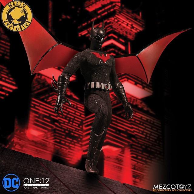 新的蝙蝠俠傳奇展開!! MEZCO ONE:12 COLLECTIVE 系列 DC Comics【未來蝙蝠俠】Batman Beyond Summer Exclusive 2018