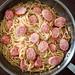 20180617 Spaghetti Alio Olio Smoked Bratwurst _6170093