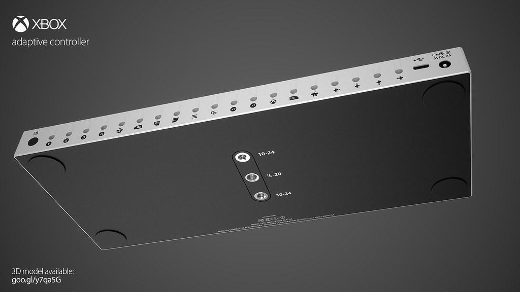 XBOX adaptive controller 3D model