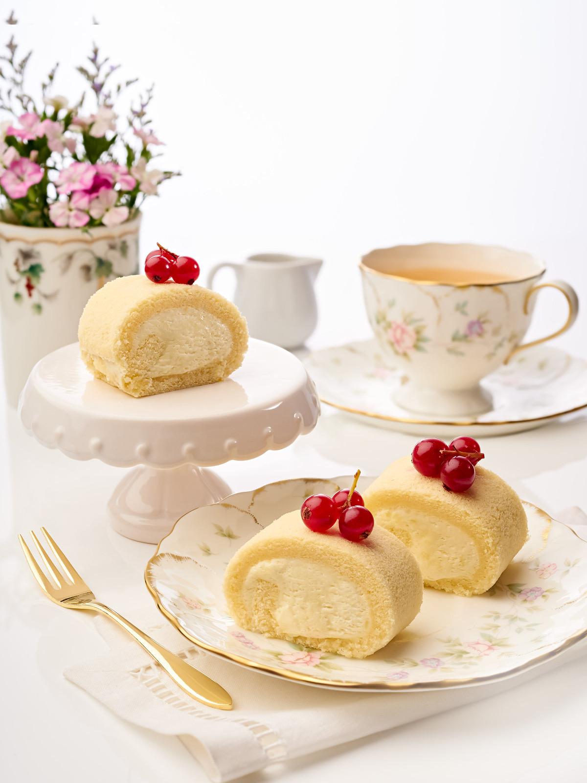 durian high tea buffet Marriott Cafe_Durian Swiss Rolls