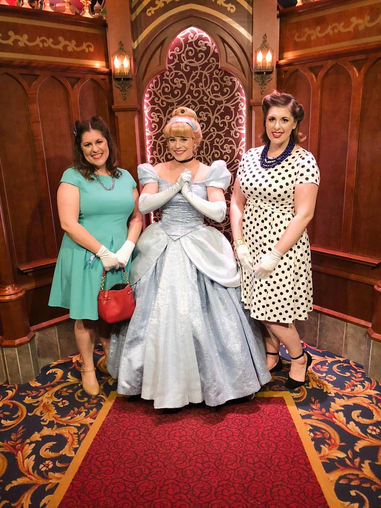 We saw Cinderella again!