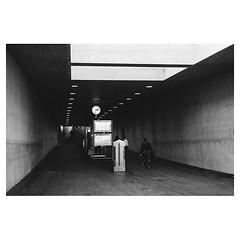 The minimalistic station, Zürich . #leicaQ #leica #leicacamera #leicaqtyp116 #leicacraft #leica_photos #leica_uk #leica_world #leicaphotography #twitter #geoffroyschied #blackandwhiteisworththefight #blackandwhite #monochrome #bw #noiretblanc #bnw #weshoo