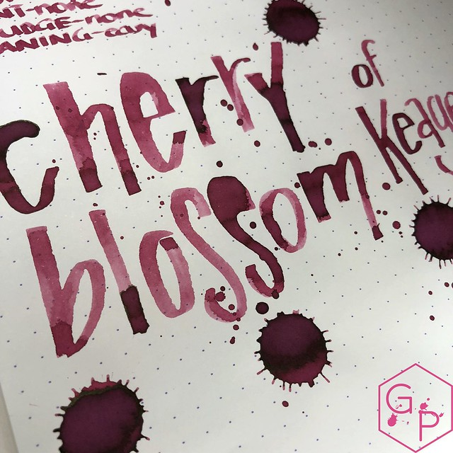 Kyo-Iro Cherry Blossoms of Keage Ink Review @PhidonPens 17