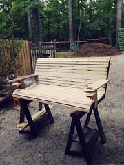 New porch swing for pergalo I'm also building for my love, my wife...