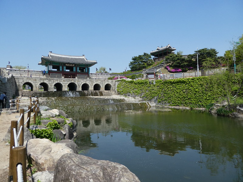Janganmun Gate, Hwaseong Fortress, Suwon, Korea