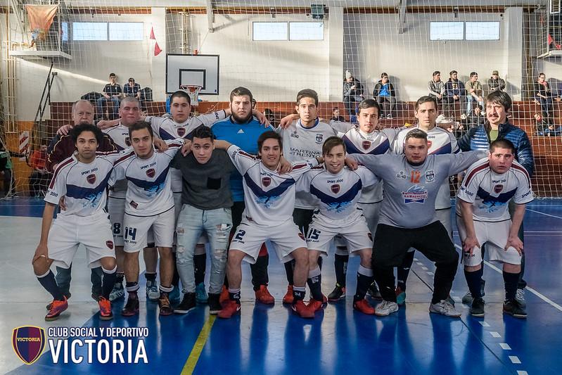 Torneo de Futsal AFA 2018 [Futsal] Victoria C vs Kapones - 02/06/18