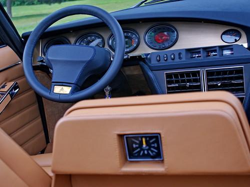 Citroën SM Présidentielle wheel