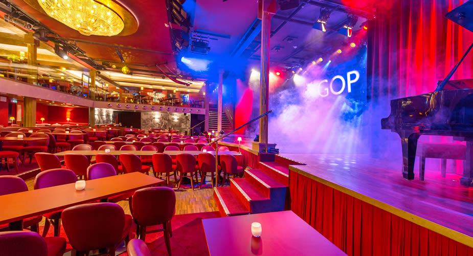 Nightlife in Hannover: Variete theater GOP (foto met dank aan GOP)   Mooistestedentrips.nl