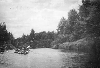 Поход на байдарках по реке Пра