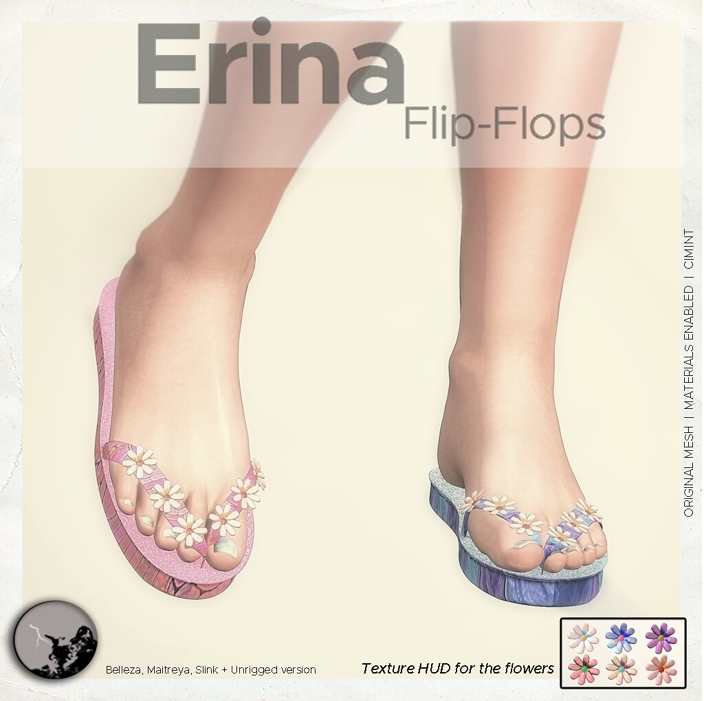 Erina Flip-flops @ The Chapter Four - TeleportHub.com Live!