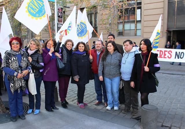 Coordinadora de Mujeres Organizadas entregan pliego (31-05-2018)