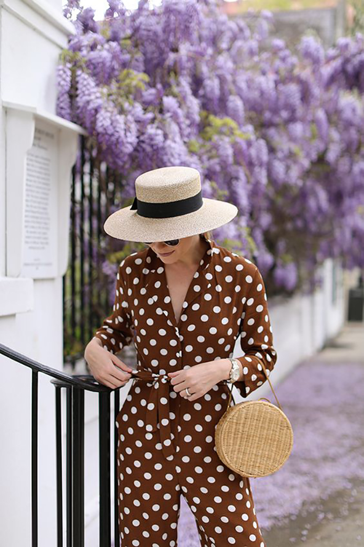 polka dot outfits for this summer trend 2018 style fashion tendencias8