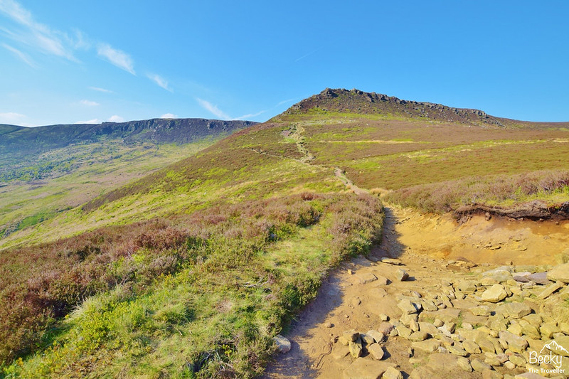 Peak District - Edale via Kinder Downfall hike)