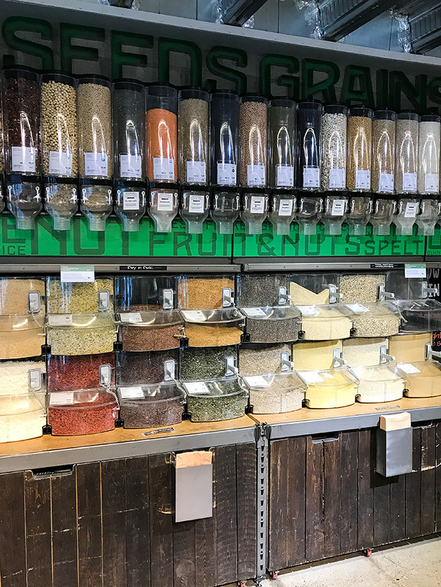 Seeds and Grains Bulk Buy at Whole Foods, Fulham #wholefoods #bulkbuy #seeds #grains