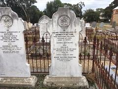 Pointon headstone Methodist cemetery Willunga