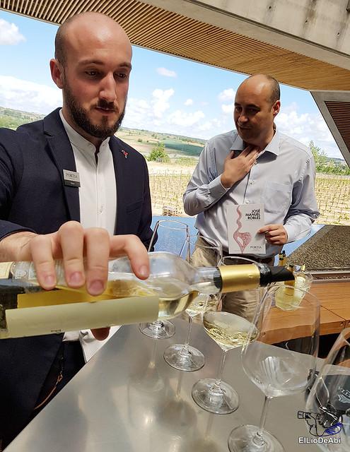 Bodegas Portia o como maridar un buen vino con la alta cocina (3)