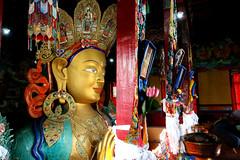 Maitreya Buddha in Thikse Monastery