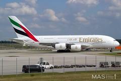 Emirates A380-800 A6-EON @ MUC