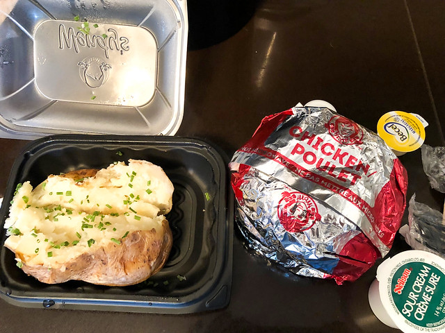 Wendy's Dinner Via Skip The Dishes