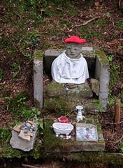 Japan: Jizo statue