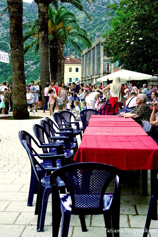 Места для гостей фестиваля