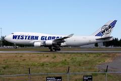 Western Global N344KD OSL ENGM Gardermoen