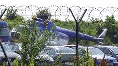 Mil Mi.8T c/n 10716 Romania Police serial 716 stored at Baneasa Airpor