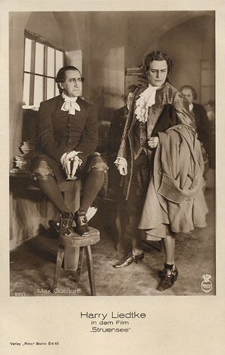 Harry Liedtke and Max Gülstorff in Struensee (1923)
