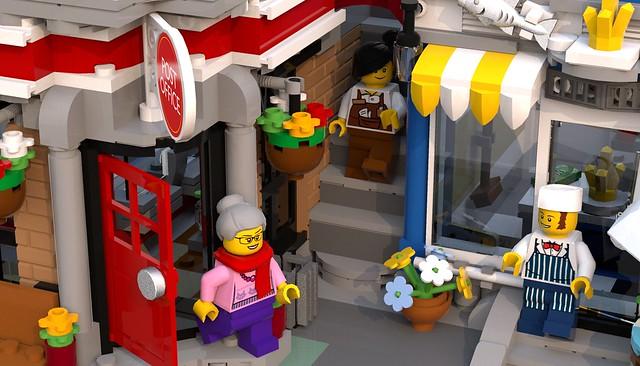 Brick Square Exterior 5