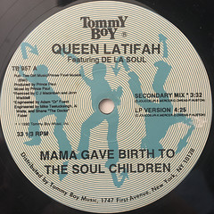 QUEEN LATIFAH:MAMA GAVE BIRTH TO THE SOUL CHILDREN(LABEL SIDE-A)