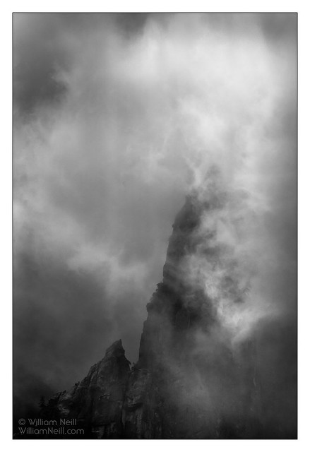 Cathedral Spires, Yosemite Valley©William Neill