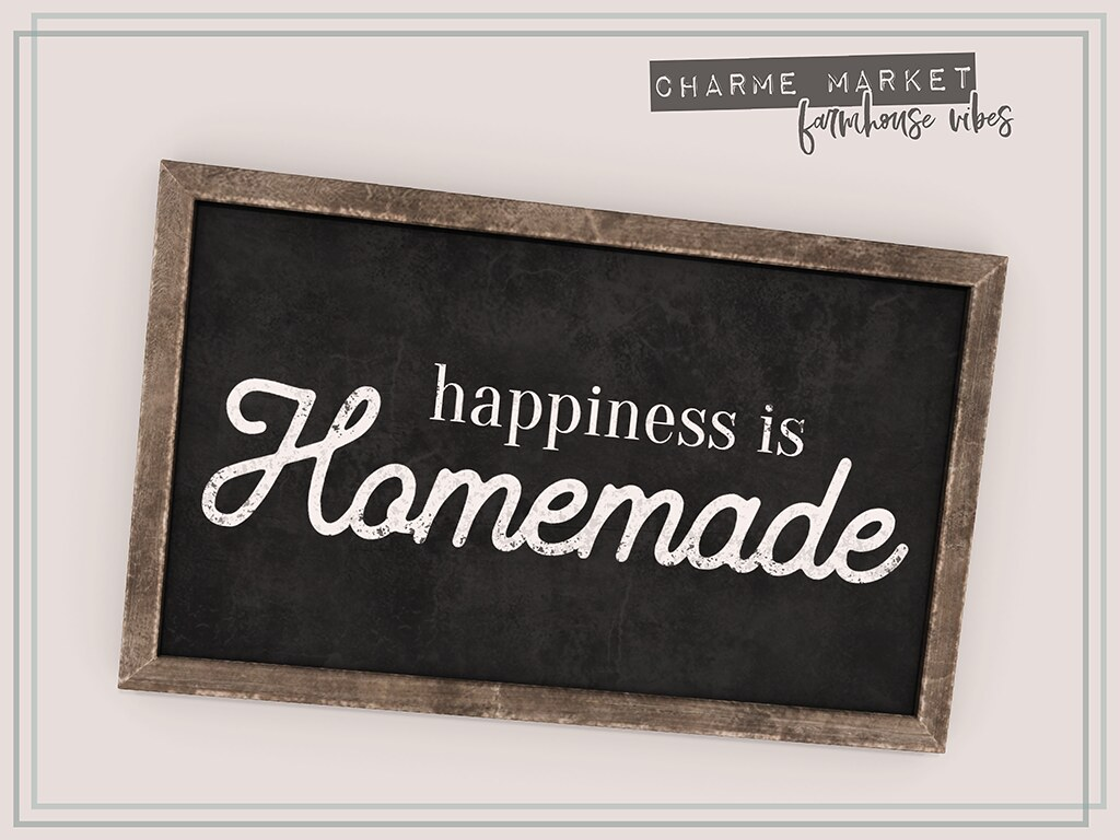 """happiness is homemade"" gift - TeleportHub.com Live!"