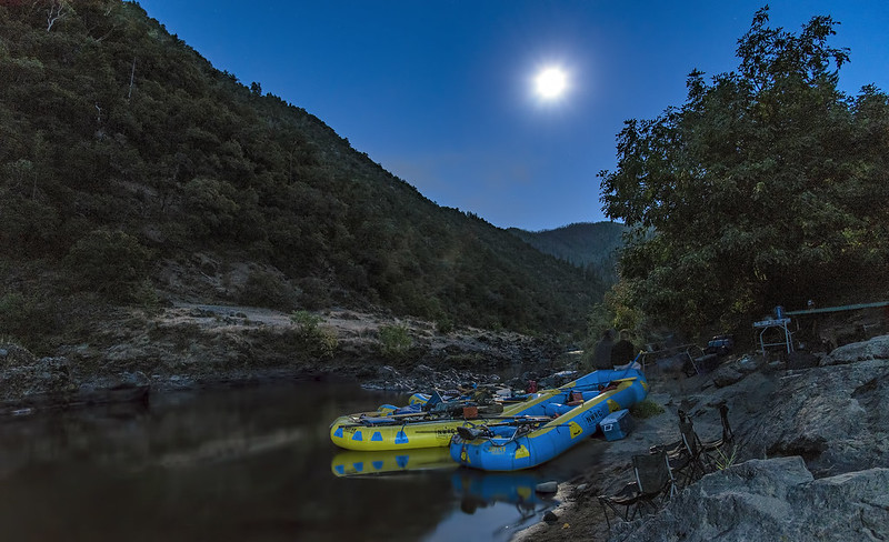 Moonlight on the Wild & Scenic Rogue River