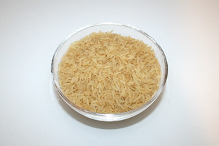 06 - Zutat Langkornreis / Ingredient rice