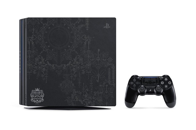 PlayStation 4 Pro Kingdom Hearts III Limited Edition Unveiled!