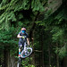MIJ Downhill practise event at Cannop Cycle Centre. Pedalabikeaway, Forest of Dean Gloucestershire