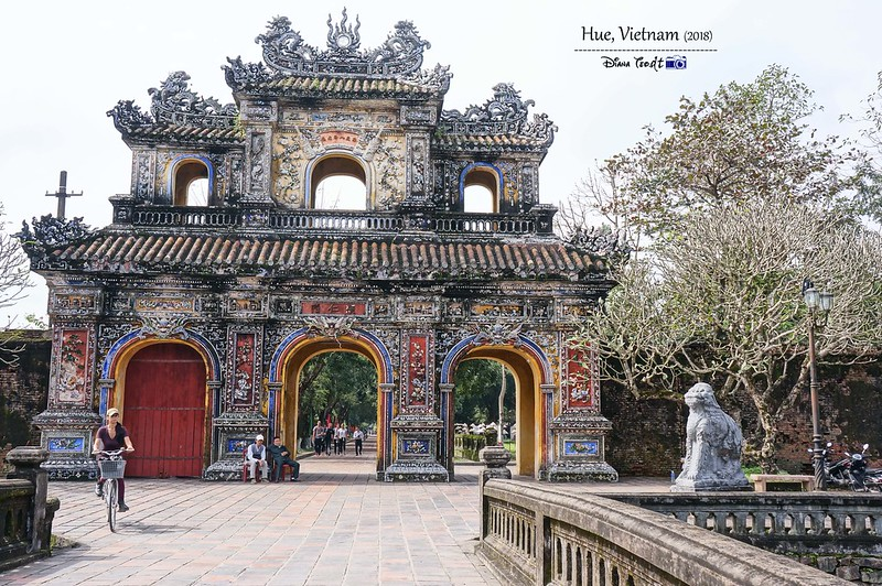 2018 Vietnam Hue Imperial City 06