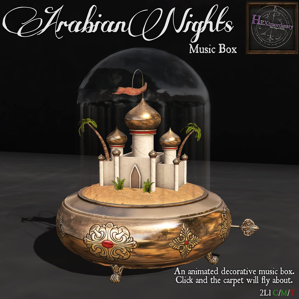 Arabian Nights Music Box @ Fifty Linden Fridays!