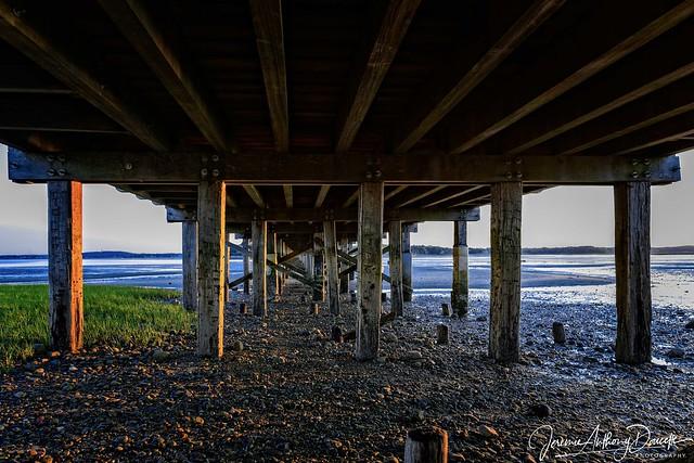 Powder Point Bridge Low Tide Sunset-1-1529203768309