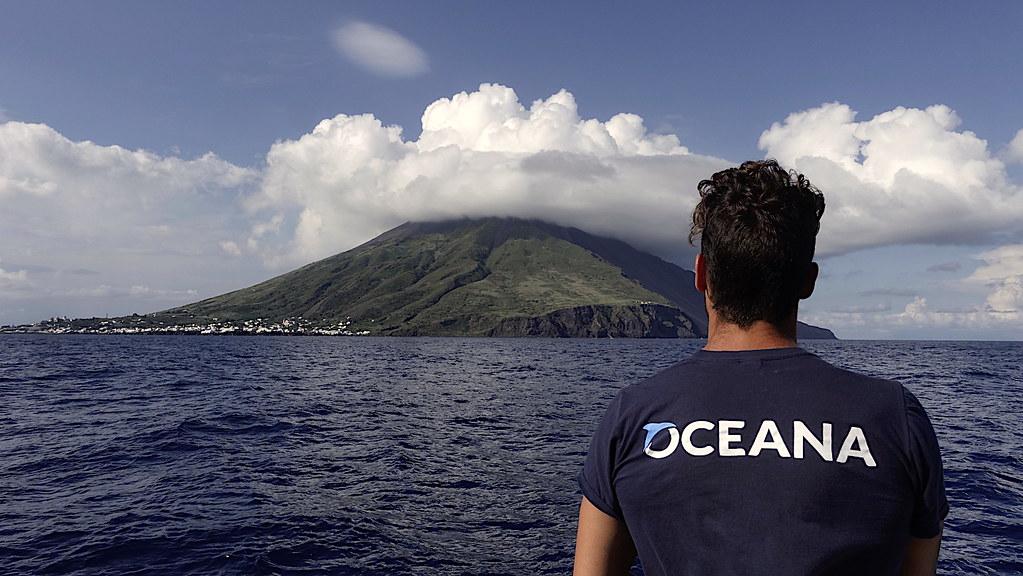 EUO © OCEANA Enrique Talledo 20180616_Stromboli_04_Island