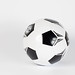 Soccer ball on white background with shadow